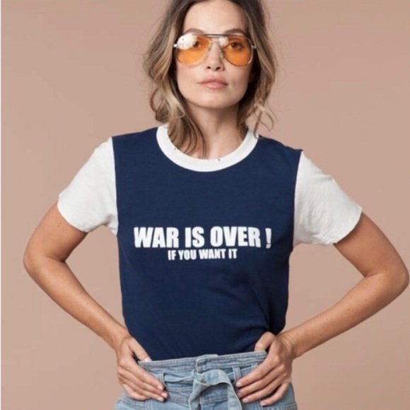 cf844110aa stoned immaculate Tops | War Is Over Tee | Poshmark